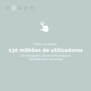 Todos os meses, 130 milhões de utilizadores do Instagram clicam em produtos identificados nos posts - imagem ilustrativa do artigo o que é Social commerce